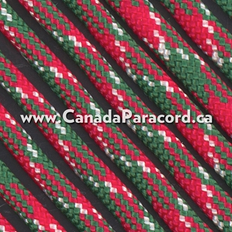 Holly Jolly - 1,000 Foot - 550 LB Paracord