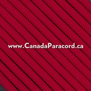 Imperial Red - 50 Feet - 550 LB Paracord