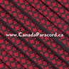 Imperial Red Diamonds - 100 Ft - 550 LB Paracord