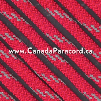 Imperial Red with Reflective Fleck - 1,000 Ft - 550 Cord