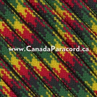 Jamaican - 100 Feet - 550 LB Paracord