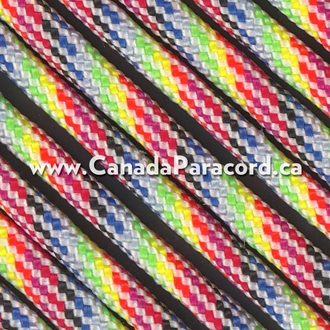 Light Stripes - 1,000 Foot - 550 LB Paracord