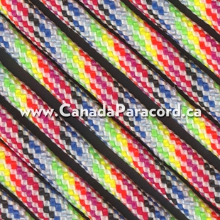 Light Stripes - 100 Foot - 550 LB Paracord