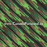 Neon Green Flame Camo - 100 Feet - 550 LB Paracord