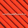 Neon Orange - 250 Feet - 550 LB Paracord