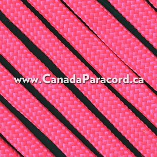 Neon Pink - 250 Feet - 550 LB Paracord