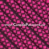 Neon Pink Diamonds - 250 Ft - 550 LB Paracord