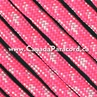 Neon Pink/White Camo - 50 Foot - 550 LB Paracord