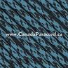 Neon Turquoise / Black Camo - 50 Ft - 550 LB Cord