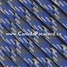 New Blue Camo - 50 Ft - 550 LB Paracord