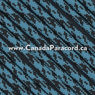 Neon Turquoise / Black Camo (Panther) - 1,000 Ft - 550 LB Cord