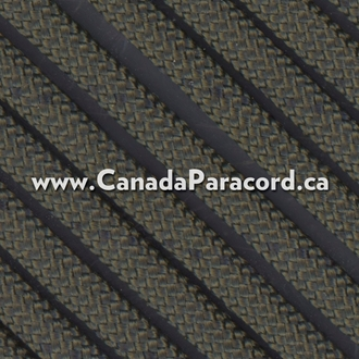 OD with Black Fleck - 100 Foot - 550 LB Paracord