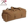 Coyote Brown Mossad Tactical Canvas Duffle Bag by Rothco®