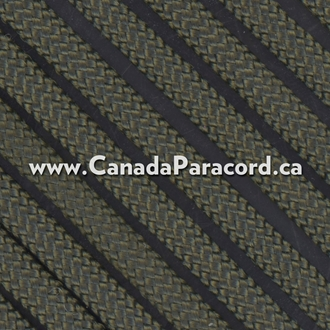 Olive Drab - 250 Feet - 550 LB Paracord