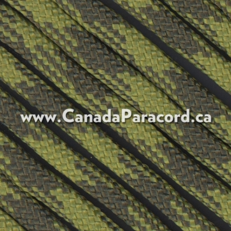 Olive Drab & Moss 50/50 - 1,000 Ft - 550 LB Paracord