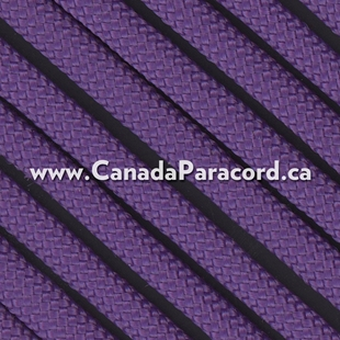 Purple - 50 Feet - 550 LB Paracord