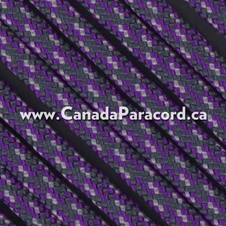 Purple Rain - 50 Feet - 550 LB Paracord