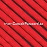 Red - 50 Feet - 550 LB Paracord