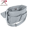 Grey Vintage Unwashed Canvas Messenger Bag by Rothco®