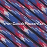Red, White & Blue Camo - 100 Foot - 550 LB Paracord