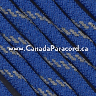 Royal Blue with Reflective Fleck - 100 Ft - 550 Cord
