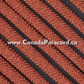Rust - 1,000 Feet - 550 LB Paracord