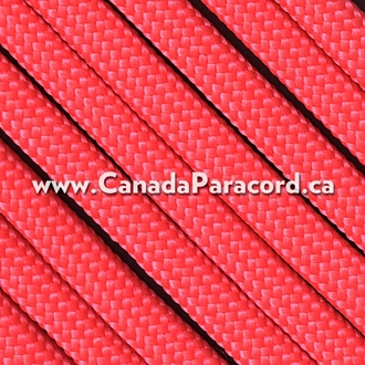 Salmon - 100 Feet - 550 LB Paracord
