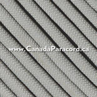 Silver - 100 Feet - 550 LB Paracord