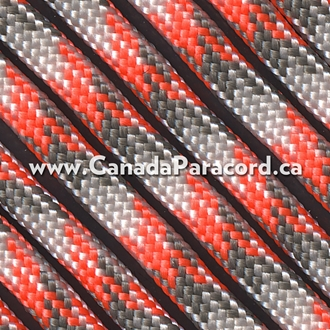 Sneaky Orange Camo - 100 Feet - 550 LB Paracord
