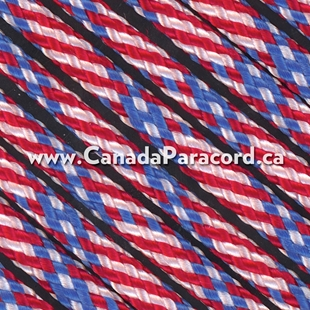 Stars N Stripes - 50 Ft - 550 LB Paracord