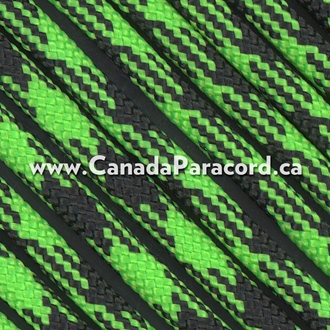 Viper (Neon Green/Black) - 50 Feet - 550 LB Cord