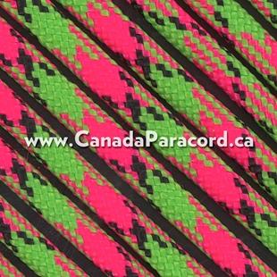 Watermelon - 1,000 Feet - 550 LB Paracord
