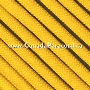 Yellow - 250 Feet - 550 LB Paracord