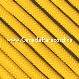Yellow - 50 Feet - 550 LB Paracord
