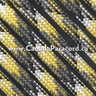 Yellow Camo - 1,000 Feet - 550 LB Paracord