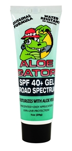 SPF 40+ Total Sunblock Gel | 1 Fl. oz (30 mL) | by Aloe Gator