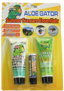 Summer Suncare Combo Pack by Aloe Gator