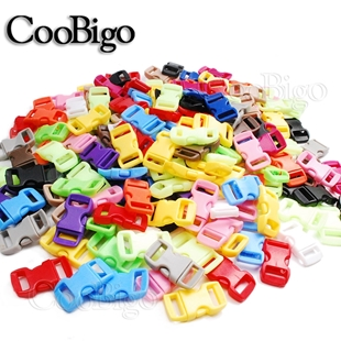 3/8 Inch Curved Side Release Buckles - Various Colours - Coobigo