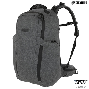 Entity 35™ CCW-Enabled Internal Frame Backpack 35L by Maxpedition® Charcoal