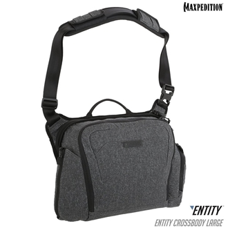 Entity™ Crossbody Bag (Large) 14L by Maxpedition® Charcoal