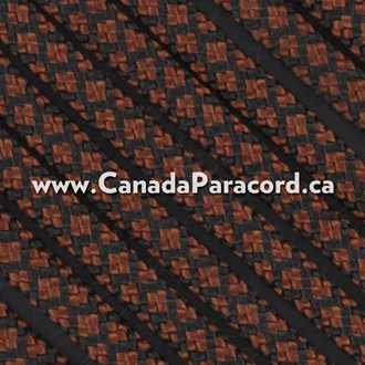 Rust Diamonds - 1,000 Ft - 550 LB Nylon Paracord