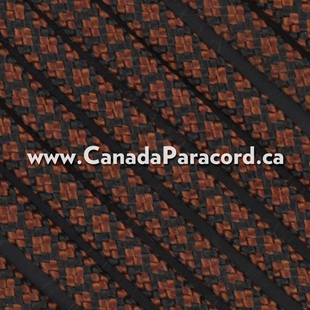 Rust Diamonds - 100 Ft - 550 LB Nylon Paracord