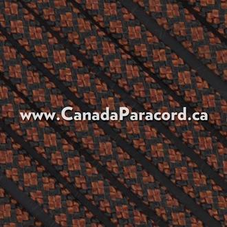 Rust Diamonds - 50 Ft - 550 LB Nylon Paracord