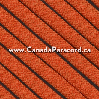 Orange - 95 Paracord Type 1 Nylon - 100 Feet