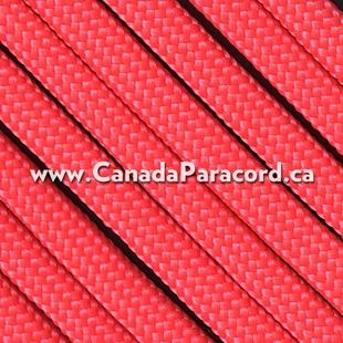 Salmon - 95 Paracord Type 1 Nylon - 100 Feet