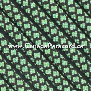 Mint Diamonds - 100 Ft - 550 LB Nylon Paracord