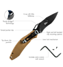 Krait Knife Spear Folder by First Tactical®