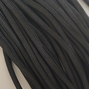 Black - 25 Foot - 550 LB Type III Paracord
