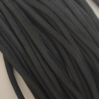 Black - 50 Foot - 550 LB Type III Paracord