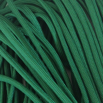 Green - 100 Foot - 550 LB Type III Paracord